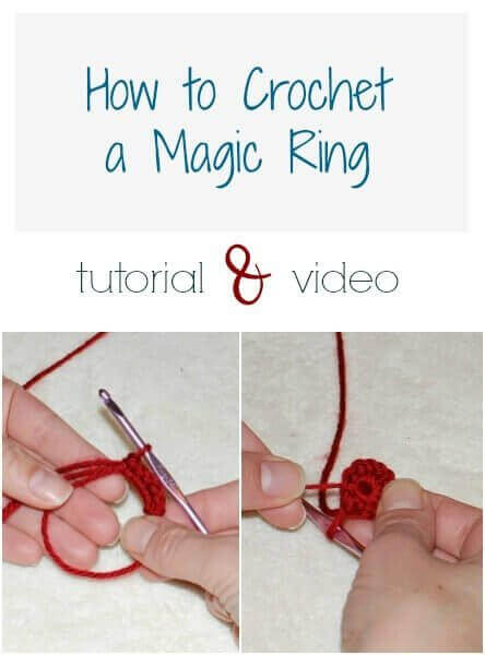 Magic Ring Crochet Technique {Video & Photo Tutorial}