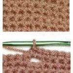 How to Crochet Buttonholes