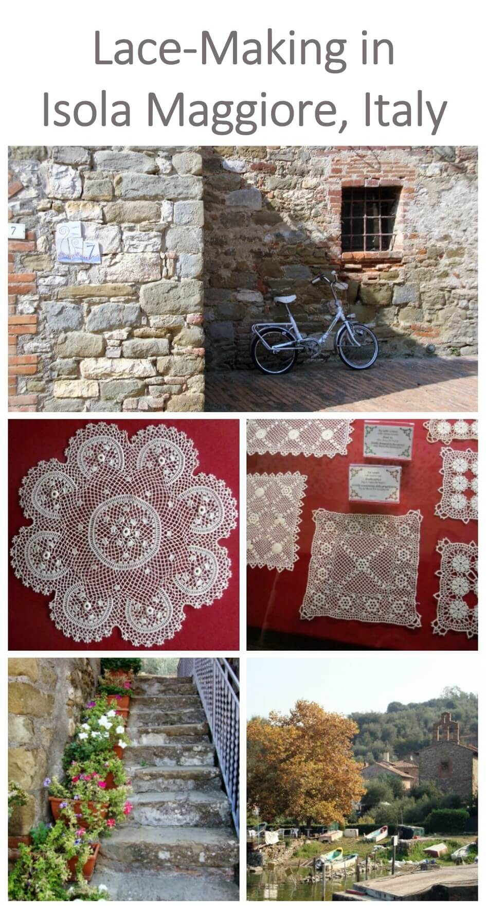 Come on a virtual exploration of Isola Maggiore and learn about the rich history of their Irish lace making tradition.