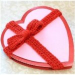 Hugs and Kisses Heart Basket Crochet Pattern
