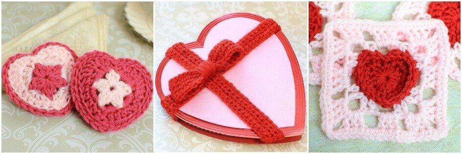 Hugs and Kisses Heart Basket Crochet Pattern | Petals to Picots