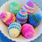 Crocheted Easter Eggs Pattern