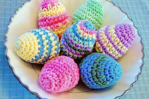 Crocheted Easter Eggs Pattern - Easter Egg Crochet Pattern