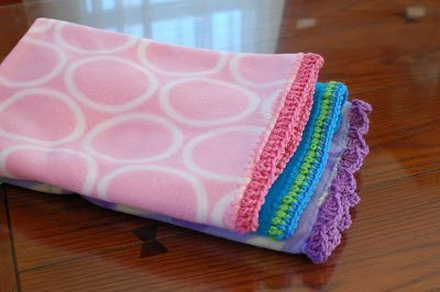 Quick and Easy Crocheted Blanket Edging Patterns | www.petalstopicots.com