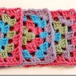 Granny Square Purse Crochet Pattern