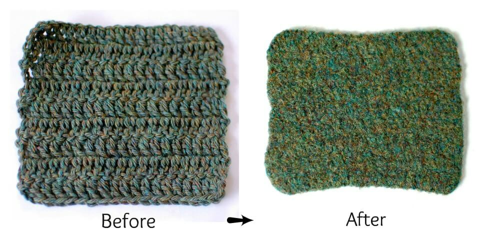 Felting Knitting & Crochet: What Is Felting? How To Felt? | www.petalstopicots.com