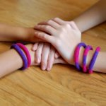 Felted bracelets
