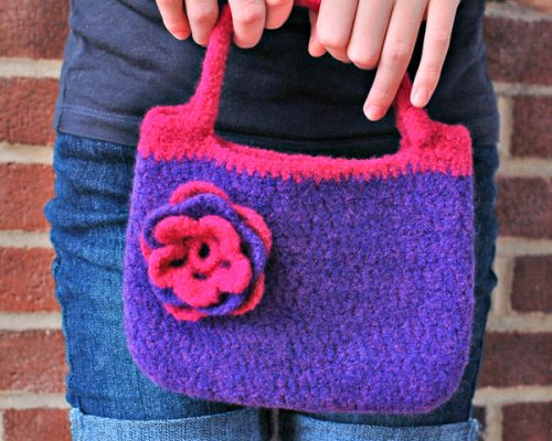 Felted Purse (1 of 1)