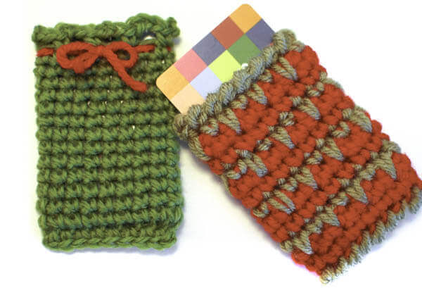 crochet gift card holders pattern