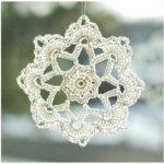 Pretty Picot Snowflake Pattern