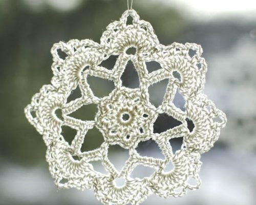 crochet snowflake pattern-2