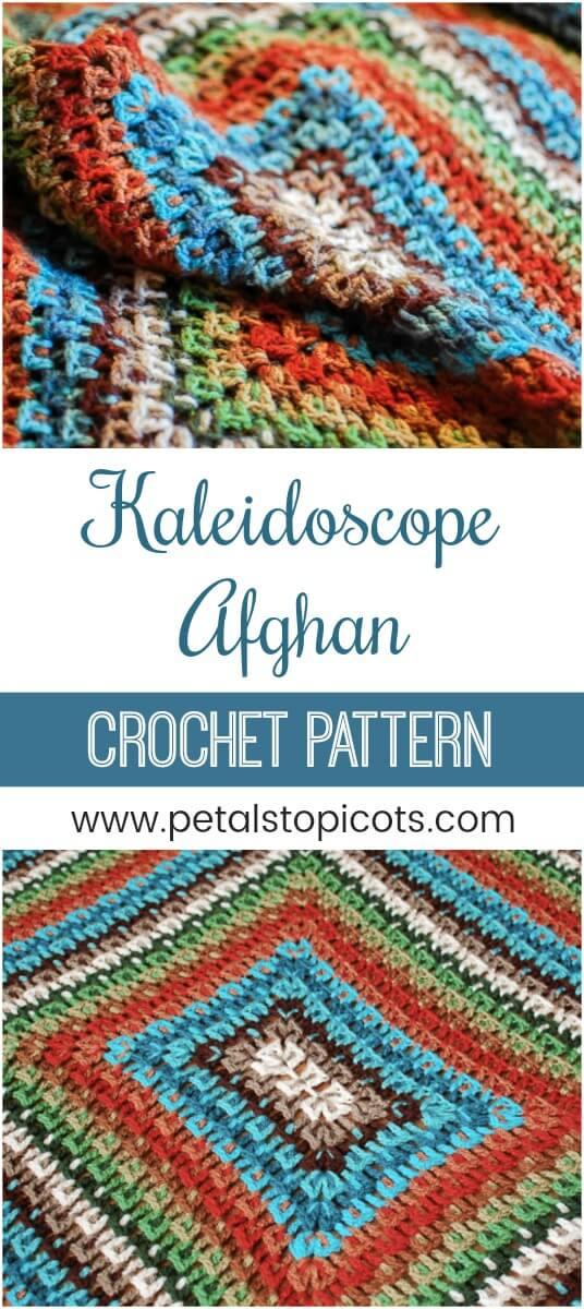 Crochet Kaleidoscope Afghan Pattern
