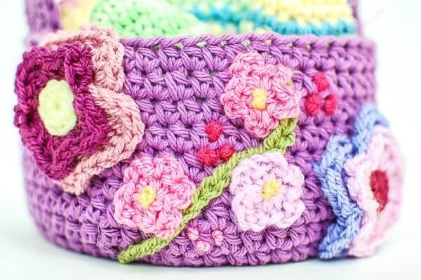 Easter Basket Crochet Pattern