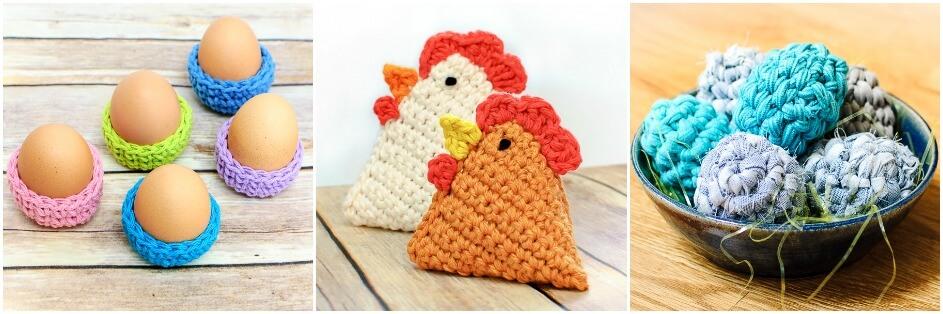 Easter eggs crochet pattern mini easter eggs crochet pattern dt1010fo
