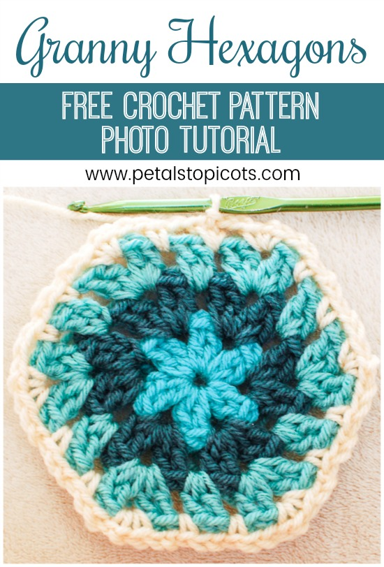 Crochet Hexagon Pattern and Photo Tutorial