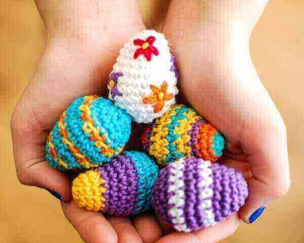 Mini Easter Egg Crochet Pattern