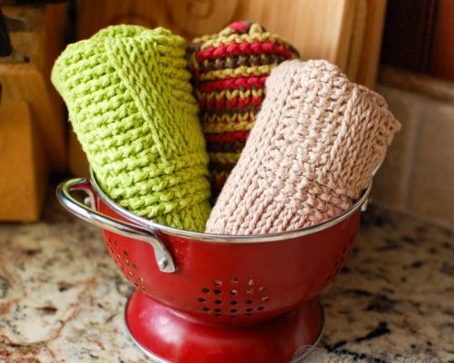 Tunisian Washcloths