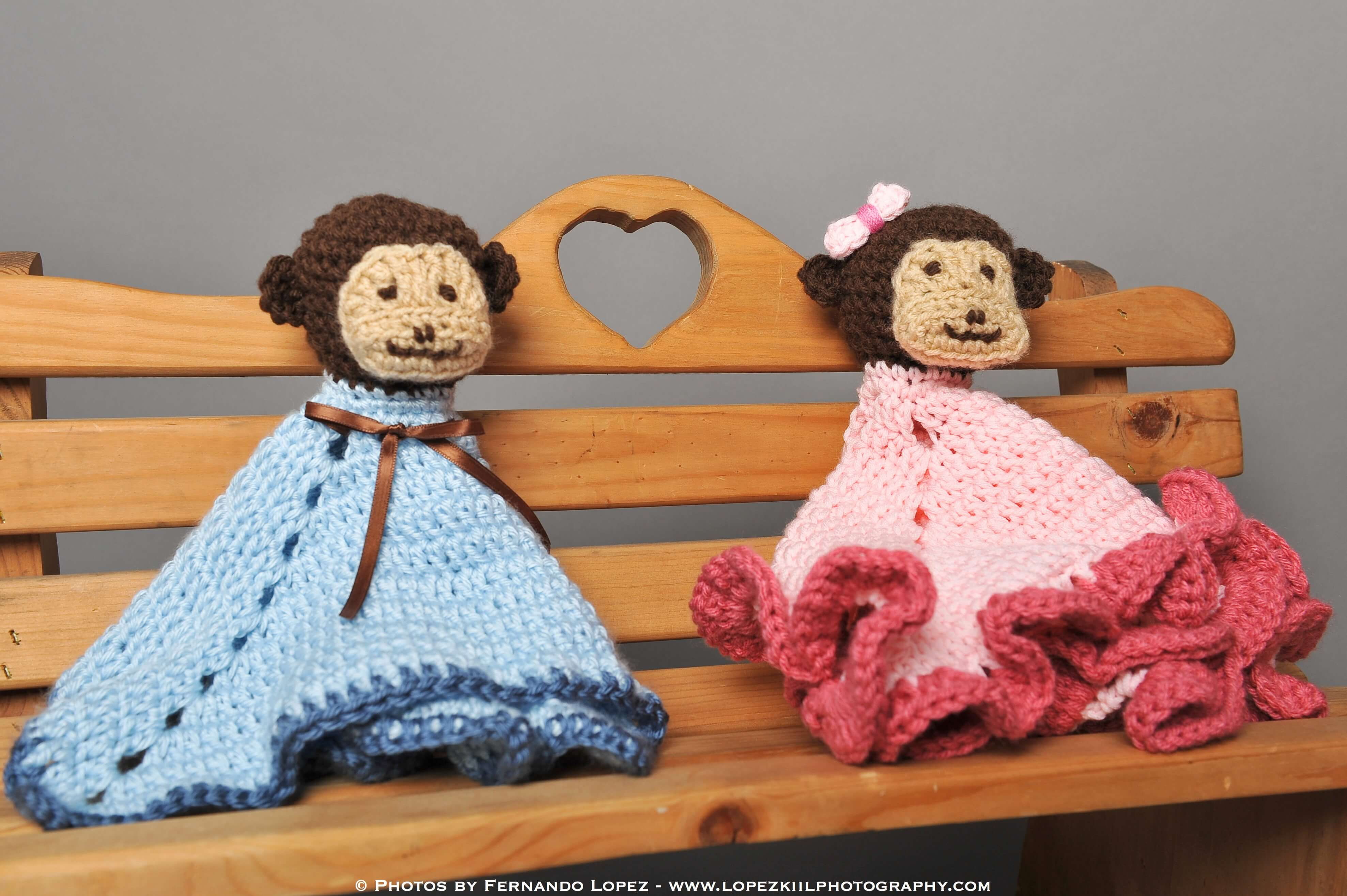 Monkey Crochet Lovey Pattern Petals To Picots