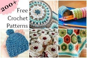 200+ Free Crochet Patterns | www.petalstopicots.com | #crochet