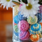 Crochet Ball Centerpiece