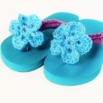 Crochet Flip Flop Tutorial