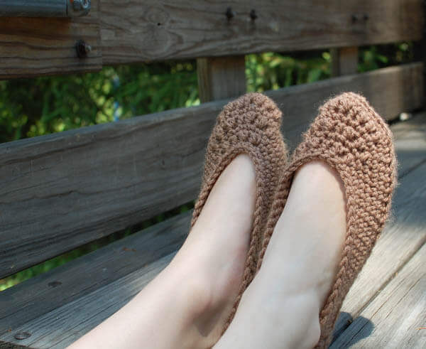 crochet slipper pattern (4 of 5)