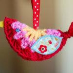 Mini Crochet Bird from Bunny Mummy