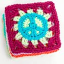 Peace Sign Granny Squares