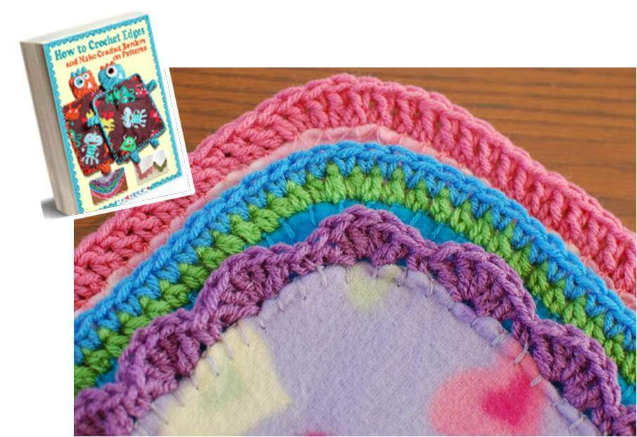 Free Crochet Edging ebook - Petals to Picots