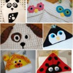 All Animals Hooded Blankets / Towels