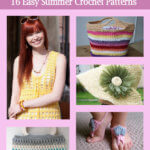 Summer Crochet Patterns – Free eBook