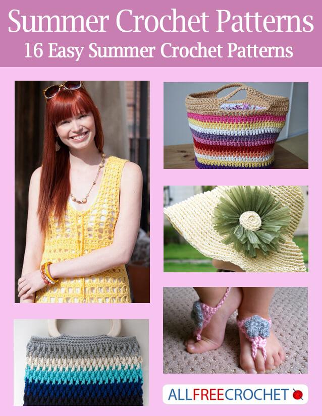 Summer Crochet Patterns : ... summer crochet patterns 16 easy summer crochet patterns the ebook