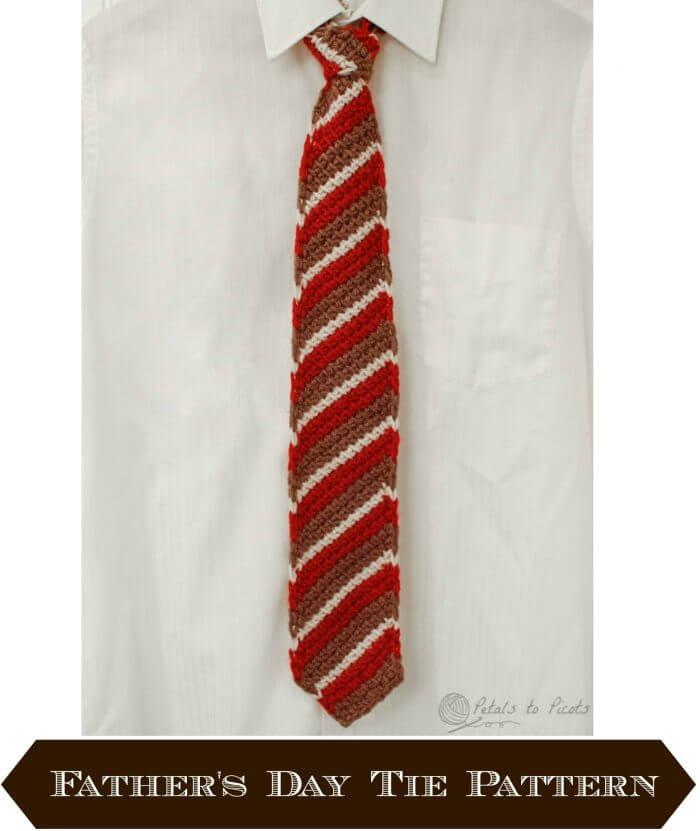 Tunisian Crochet Tie