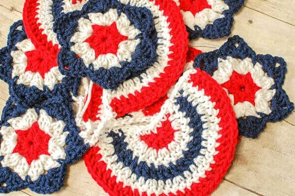 Star Spangled Banner Crochet Pattern