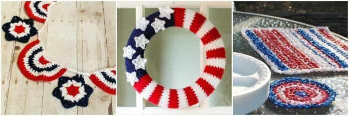4th of July Crochet Patterns