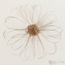 wire loom flower
