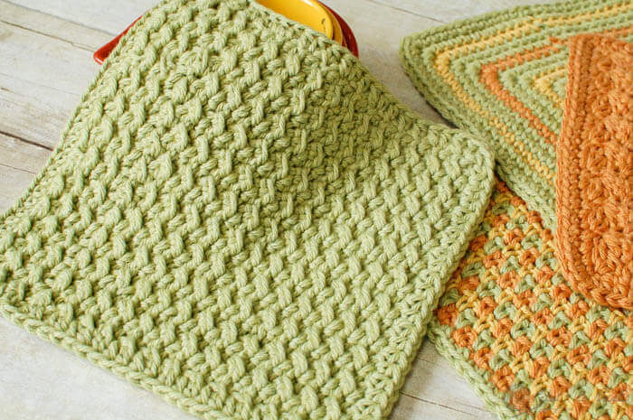 Free Online Crochet Dishcloth Patterns : Free Crocheted Dishcloth Patterns Apps Directories