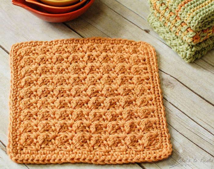 Free Beginner Crochet Dishcloth Pattern Rachael Edwards