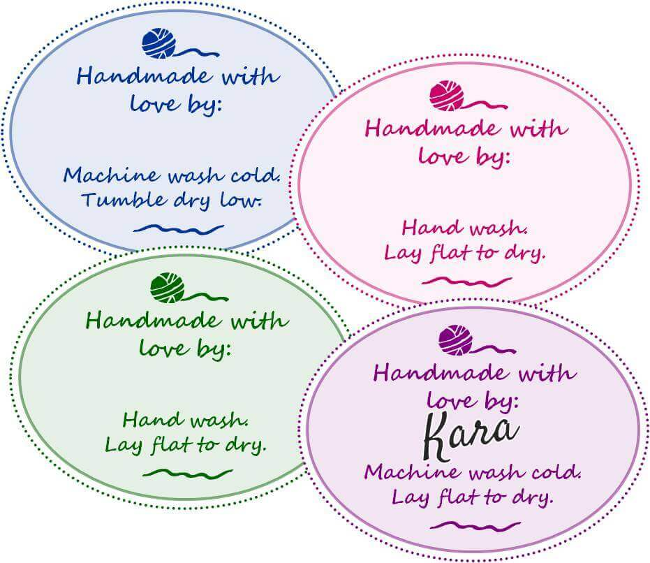 Free Printable Gift Tags for Your Handmade Gifts | Petals to Picots