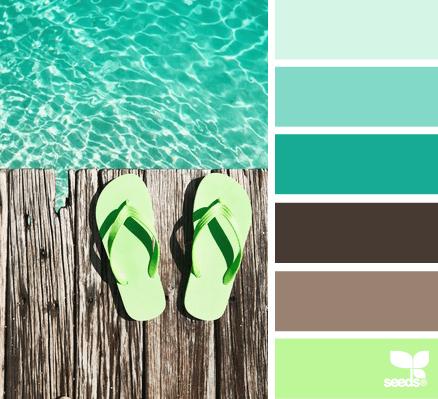 Summer Color Inspiration | Petals to Picots