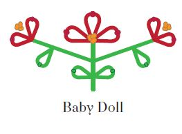 baby doll embroidery