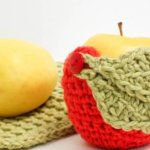 Apple Crochet Cozy