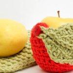 Apple Crochet Cozy