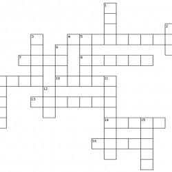 crossword body