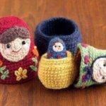 Nesting Dolls CAL: Matryoshka Pattern 1 – Large Doll