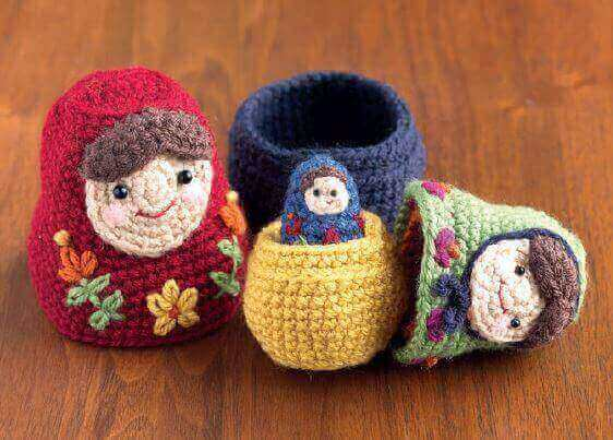 Knitting Pattern Russian Doll : Nesting Dolls CAL: Matryoshka Pattern 1   Large Doll ...