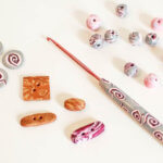 polymer clay hooks and buttons