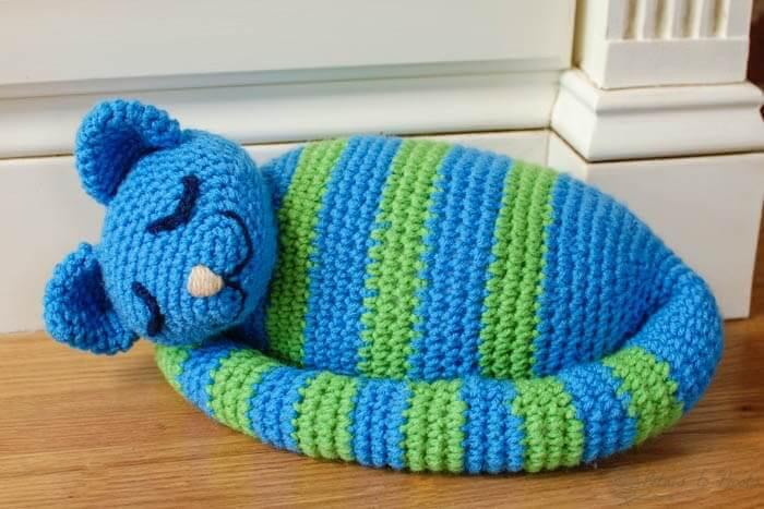 Free Crochet Cat Doorstop Patterns : Crochet Book Review: Crochet at Home by Brett Bara ...