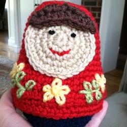 Matryoshka Nesting Dolls Crochet Pattern