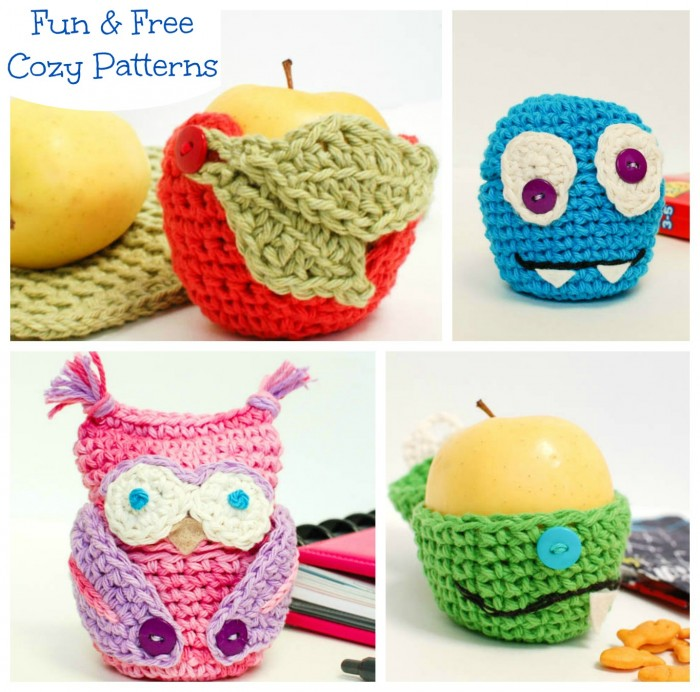 Apple Cozy Crochet Patterns | www.petalstopicots.com | #crochet